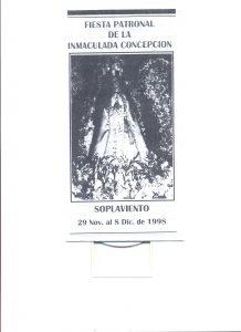 F-0023-Programa-Fiesta-Virgen-de-las-Velitas-Soplaviento-Colombia-1998-ITER
