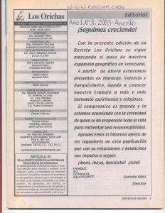 003-I-Revista Los Orichas