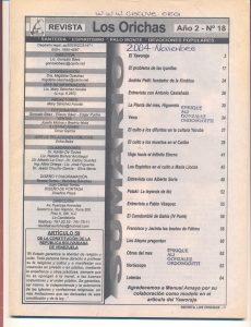 018-I-Revista Los Orichas