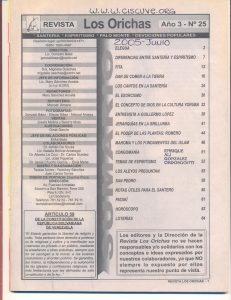 025-I-Revista Los Orichas