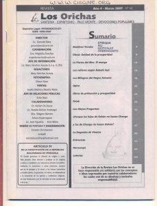 046-I-Revista Los Orichas