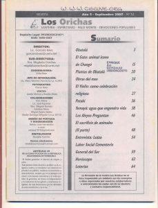 052-I-Revista Los Orichas