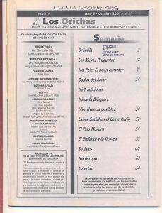 053-I-Revista Los Orichas