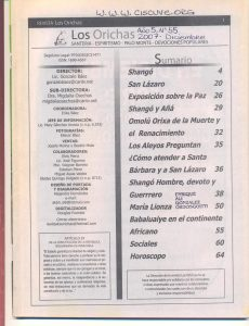 055-I-Revista Los Orichas