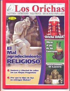 071-P-Revista Los Orichas