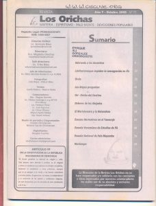 077-I-Revista Los Orichas