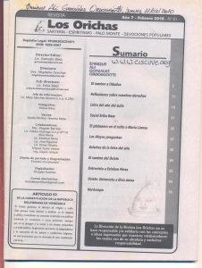 081-I-Revista Los Orichas
