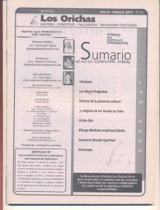 093-I-Revista Los Orichas