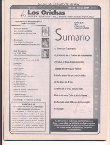 094-I-Revista Los Orichas