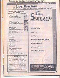 096-I-Revista Los Orichas
