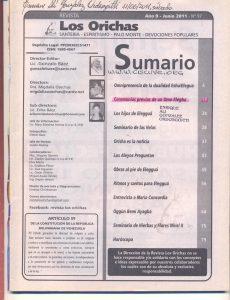 097-I-Revista Los Orichas