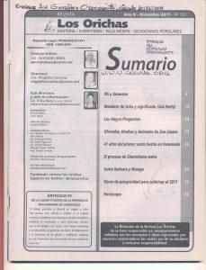 103-I-Revista Los Orichas
