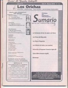 106-I-Revista Los Orichas