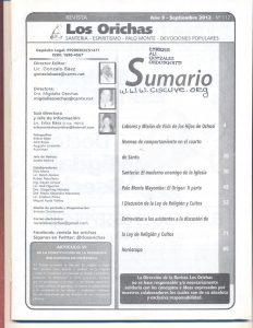 112-I-Revista Los Orichas