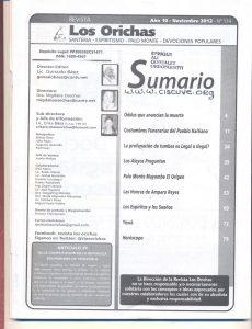 114-I-Revista Los Orichas