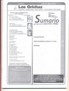 116-I-Revista Los Orichas