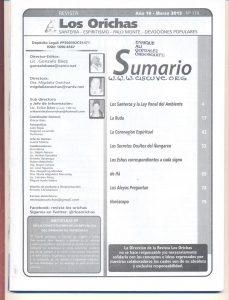 118-I-Revista Los Orichas