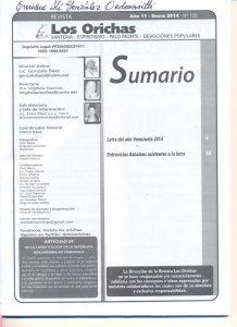 128-I-Revista Los Orichas