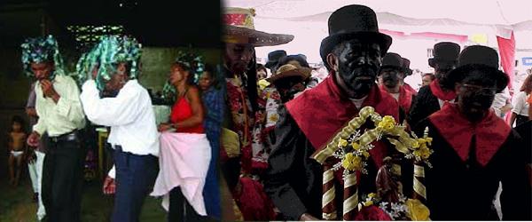 Enrique Alí González Ordosgoitti.-Parranda de Negros o Baile de los Pintaos en Altagracia de Orituco.