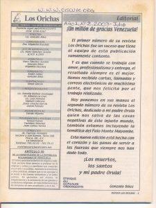 002-I-Revista Los Orichas