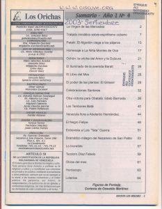 004-I-Revista Los Orichas