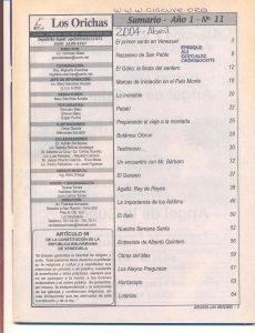 011-I-Revista Los Orichas