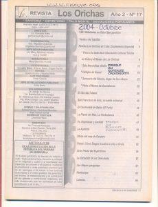 017-I-Revista Los Orichas