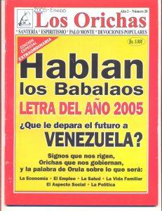 020-P-Revista Los Orichas