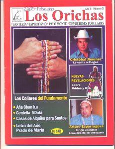 021-P-Revista Los Orichas