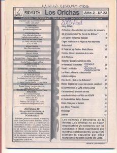 023-I-Revista Los Orichas