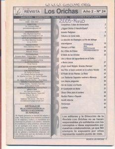 024-I-Revista Los Orichas