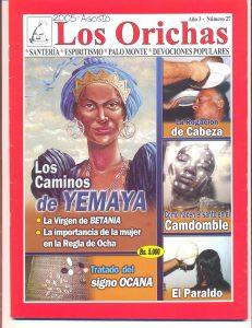 027-P-Revista Los Orichas