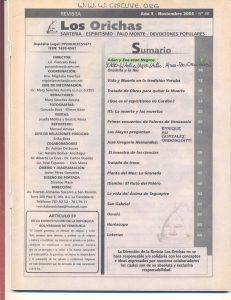 030-I-Revista Los Orichas