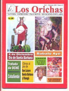 031-P-Revista Los Orichas