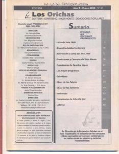 032-I-Revista Los Orichas