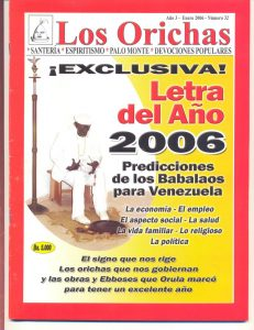 032-P-Revista Los Orichas
