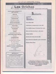 044-I-Revista Los Orichas