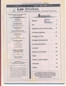 048-I-Revista Los Orichas