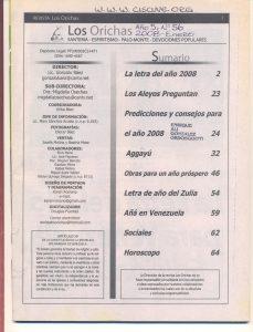 056-I-Revista Los Orichas