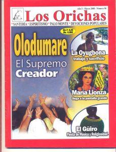 058-P-Revista Los Orichas