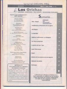 062-I-Revista Los Orichas