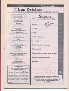 063-I-Revista Los Orichas