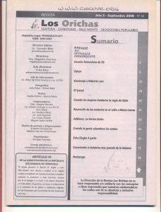 064-I-Revista Los Orichas