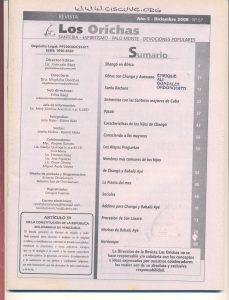 067-I-Revista Los Orichas