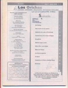 073-I-Revista Los Orichas