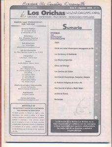 075-I-Revista Los Orichas