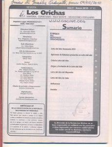 080-I-Revista Los Orichas