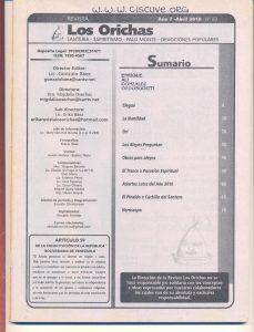 083-I-Revista Los Orichas