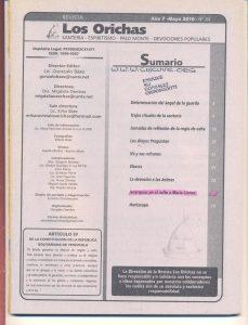 084-I-Revista Los Orichas
