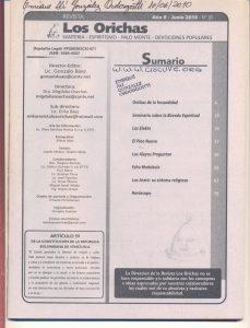 085-I-Revista Los Orichas